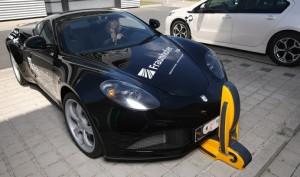Efficiënte inductielader voor elektrische auto's