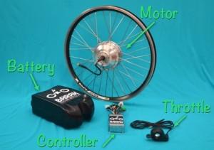 In 15 minuten van gewone fiets naar elektrische fiets