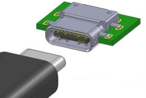Omkeerbare USB-connector klaar voor productie