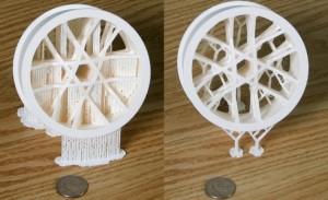 Sneller 3D-printen met minder afval