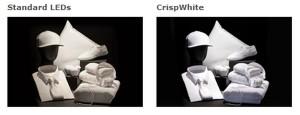 Crisp White LED-technologie verbetert kleurweergave