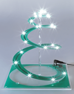 Post Project 48: Spiralige kerstboom
