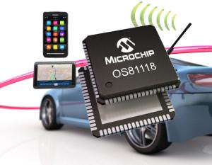 Nieuwe Audi A4 krijgt MOST150-technologie van Microchip