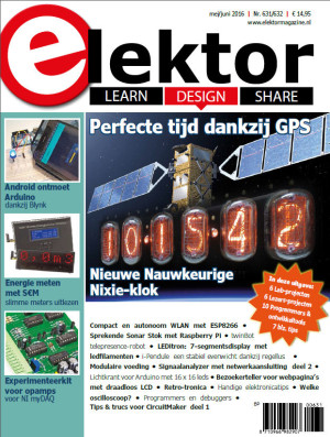 Zojuist verschenen: Elektor Magazine mei/juni 2016