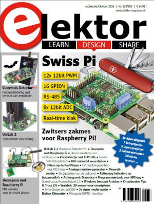 Elektor Magazine september/oktober 2016 nu verkrijgbaar!
