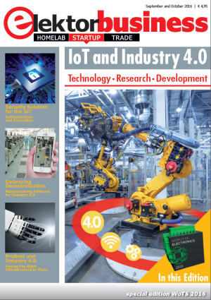 "WoTS special: Elektor Business Magazine ""IoT and Industry 4.0"""