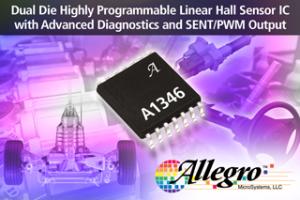 Programmeerbare Hall-sensor voor automotive toepassingen