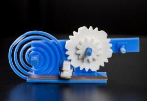 Met een geprint mechanisme kan de demping van een HF-antenne worden gevarieerd. Afbeelding: washington.edu