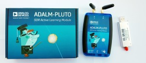 CQ-CQ ADALM-Pluto SDR Active Learning Module