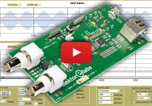 Oscilloscoop, spectrumanalyzer en signaalgenerator in één apparaat