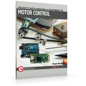 Nieuw Boek: Motor Control Projects with Arduino and Raspberry Pi