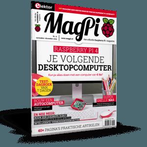 MagPi 11 stelt je volgende desktopcomputer voor: de Raspberry Pi