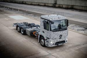 Urban eTruck van Mercedes