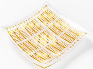 THz-sensor uit grafeen. Afbeelding: Boid – Product Design Studio, Göteborg.