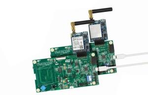 IoT-naar-cloud-verbinding via 2G/3G-mobiele data of NB-IoT. Afbeelding: STMicroelectronics