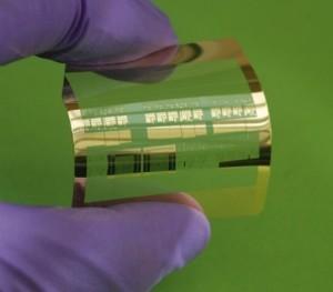 Supersnelle flexibele transistor