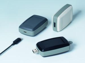 Mini-behuizingen met standaard USB-uitsparingen