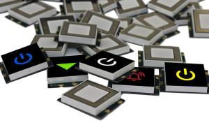 Touch-LED-sensoren. Afbeelding: VCC.