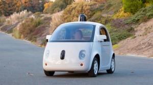 Prototype zelfsturende auto van Google