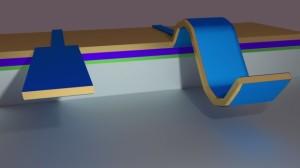 Flexo-elektrisch nanomateriaal voor zeer gevoelige sensoren
