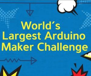 Mega-wedstrijd voor Arduino-'makers'