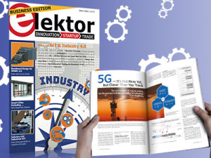 "Elektor Business Magazine 2-2018 ""Industry 4.0 and automation"""