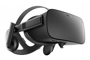 De Oculus VR-bril (foto: www.oculus.com).
