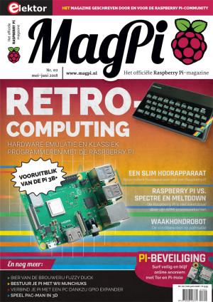 De nieuwe Nederlandse MagPi is nu verkrijgbaar