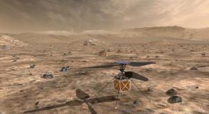 De Mars Helicopter van NASA zal in februari 2021 op Mars aankomen (afbeelding: NASA/JPL-Caltech).