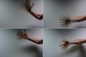 Als fluctuerend licht op een bewegend object valt, is het effect zichtbaar als een serie stilstaande beelden. Dit wordt het stroboscopisch effect genoemd. (Foto: Gosia Perz)