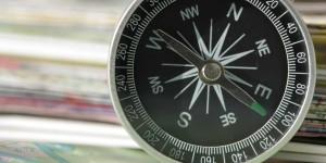 Kompas wijst naar het westen: onderzoekers hebben een nieuw magnetisch verschijnsel op nanometer-schaal ontdekt (foto: Colourbox).