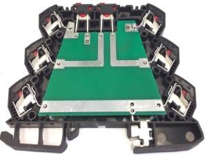 DIN-rail klemmenbehuizing: sneller monteren
