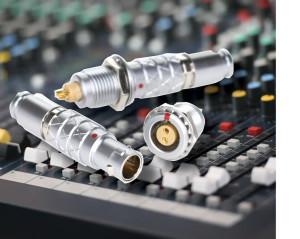 Metalen push pull connectoren