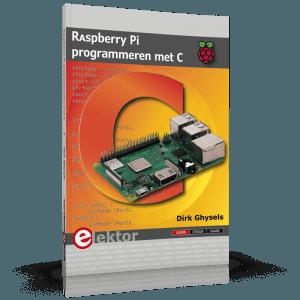 Nieuw boek: Raspberry Pi programmeren met C