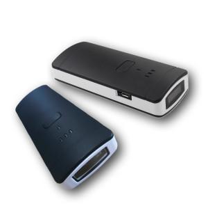 Kleine barcode en RFID handheld reader
