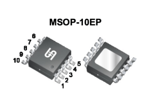 Boost-, buck/boost- of SEPIC-converter voor LED's