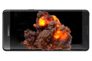 De Galaxy Note 7 van Samsung wordt in de USA teruggeroepen. Foto: Dhunganashashwat (bewerkt)