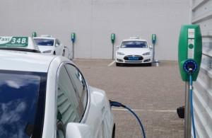 Intelligente laadstroomverdeler voor elektrische auto's