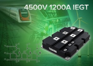 IEGT-module voor 1.200 ampère en 4.500 volt