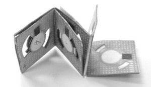 Binghamton University maakt origami-batterij