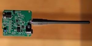 Radioamateur-transceiver-shield voor Arduino