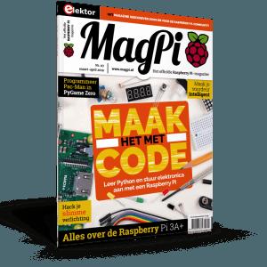 MagPi nummer 7 nu verkrijgbaar
