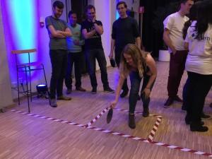 Naast de algemene competitie was er ook sprake van deelcompetities tijdens de Electroniade 2016. Zo konden de teams meedoen aan een 'Wafer petanque' waarbij het de bedoeling was met een wafer een vast object in een gemarkeerd speelveld te raken.