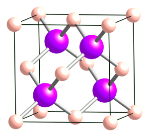 Boorarsenide-kristal. Afbeelding: Ben Mills / wikimedia.org