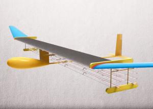 Ionenmotor van het modelvliegtuig. Afbeelding: MIT
