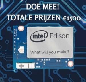 Doe mee met de Intel Edison wedstrijd