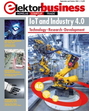 Gratis download: Elektor Business Magazine over IoT en Industrie 4.0