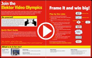 Hebt u zich al aangemeld voor Elektor's Video-Olympiade?