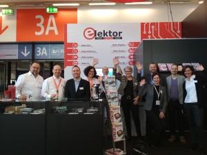 Het Elektor-team (hier een foto uit 2018) verheugt zich al op uw bezoek!