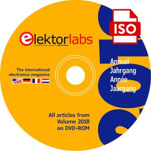 Elektor Jaargang DVD 2018: Download exclusief voor leden
